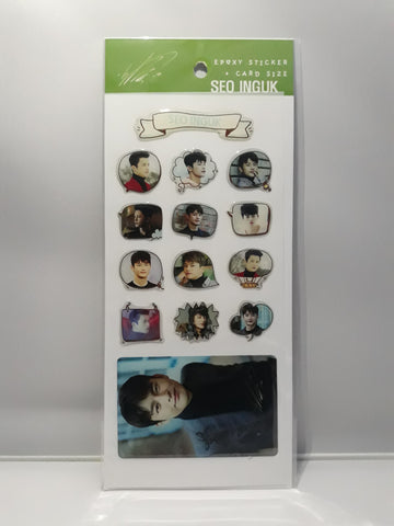 Epoxy Sticker and Card Size - SEO IN GUK