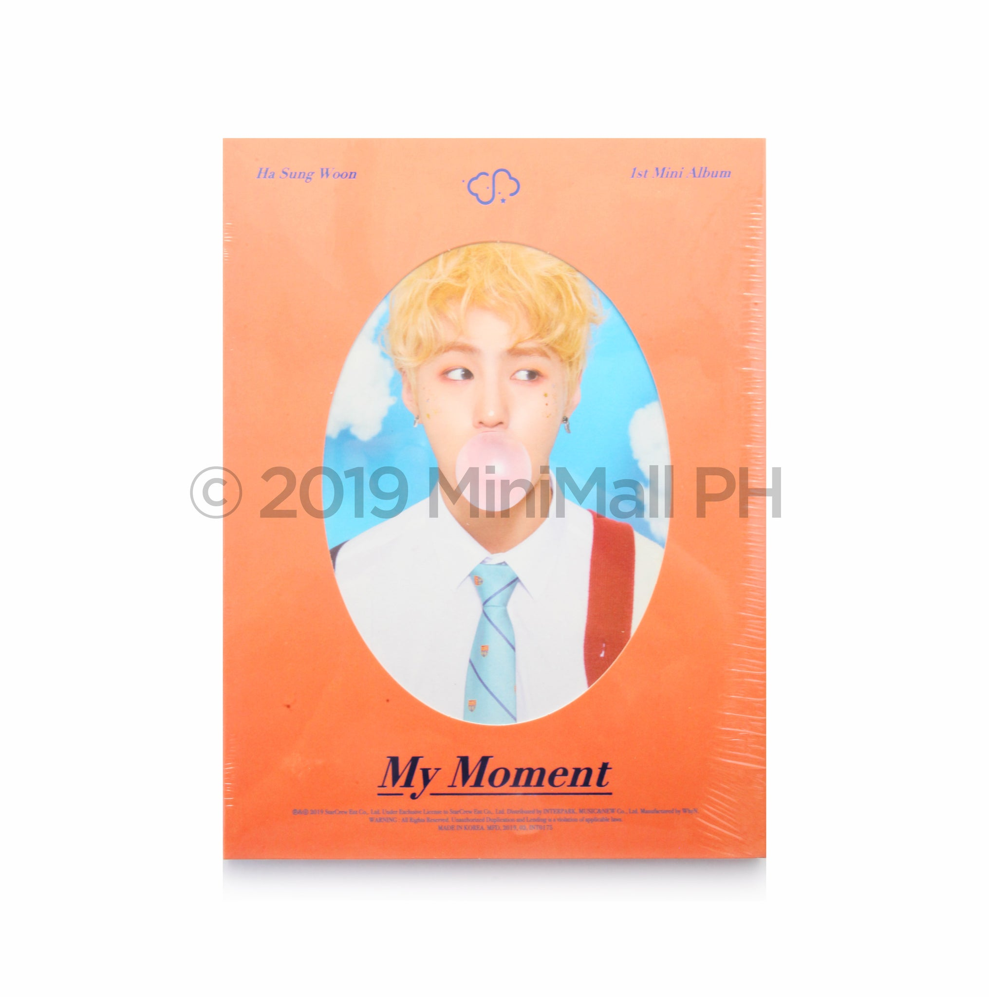 HA SUNGWOON 'My Moment' 1st Mini Album