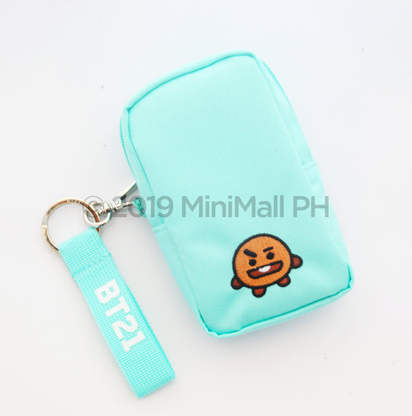 BT21  BAG CHARM SET