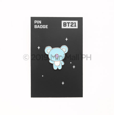 BT21 PIN BADGE