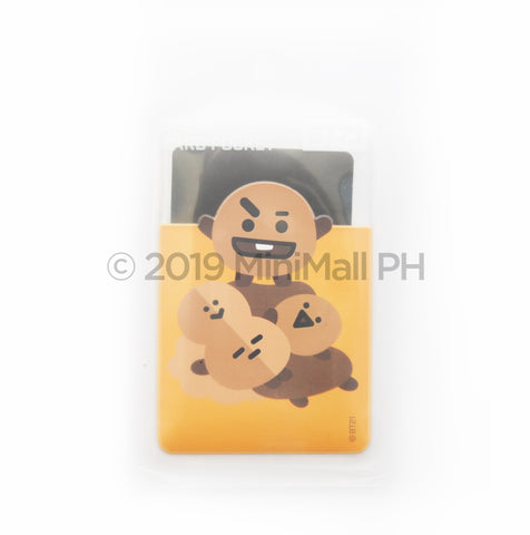 BT21 CLEAR CARD POCKET CASE