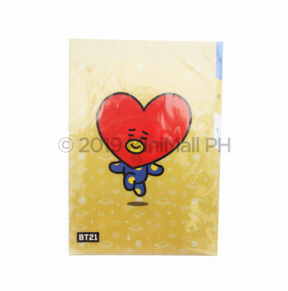 BT21 3- POCKET FOLDER