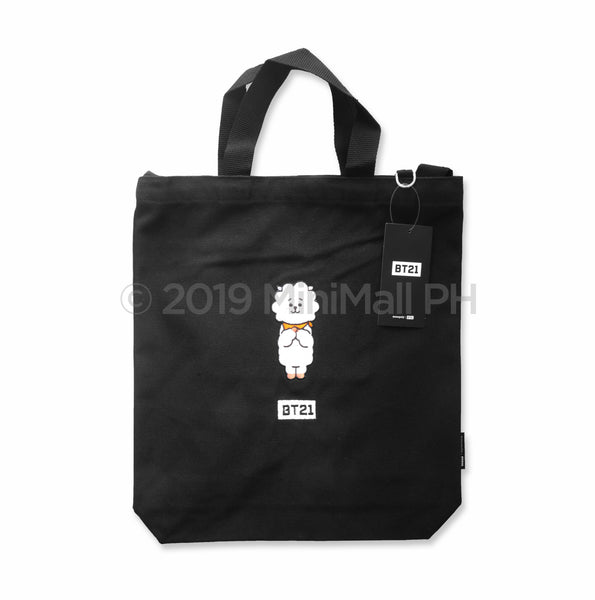 BT21 ECO BAGS (BLACK)