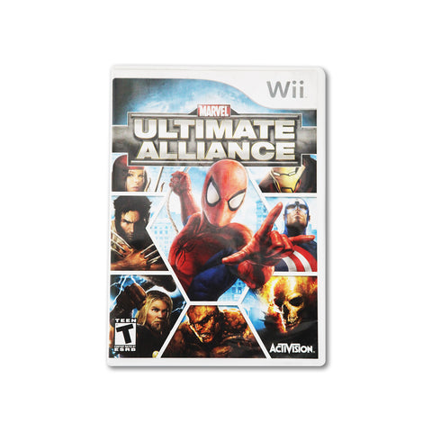 WII Marvel Ultimate Alliance