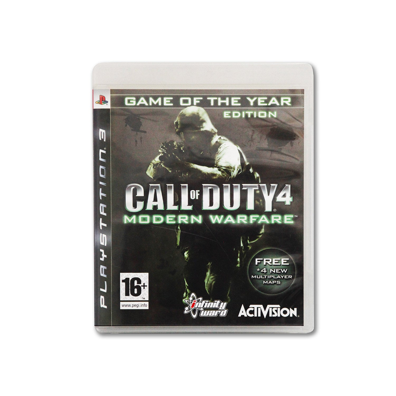 PS3 The Call of Duty 4: Modern Warfare
