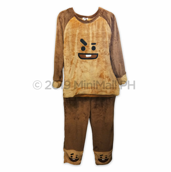 BT21 UNISEX FLEECE PAJAMA SET