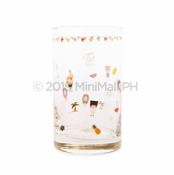 TWICE Summer Pop Up Character Glass