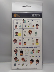 Transparent Deco Stickers - NCT 127