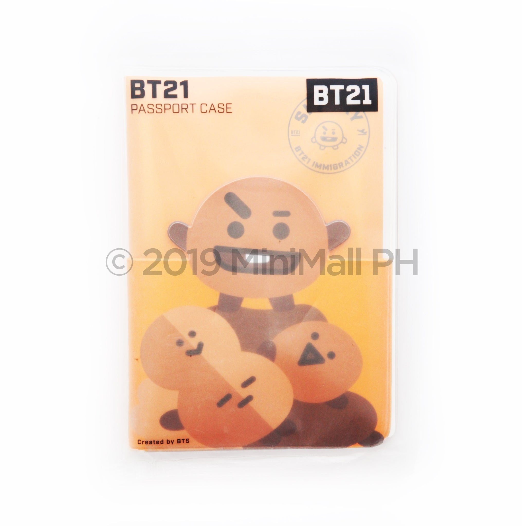 BT21 PASSPORT CASE / MINI JOURNEY