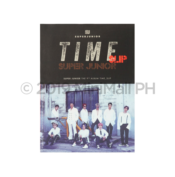Super Junior 'Time Slip' Album