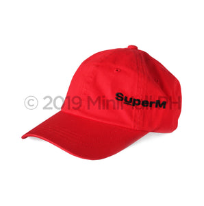 Super M Ball Cap (Red)