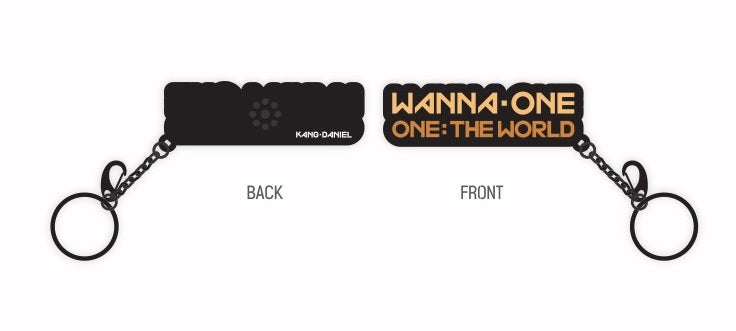 Wanna One Voice Key Ring