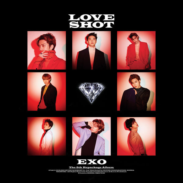 EXO 'Love Shot' Repackage Album