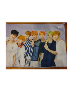 NCT Dream 'We Go Up' Fabric Poster