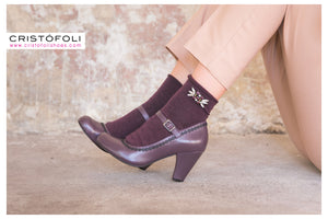 Divine Heels by Cristófoli in Plum