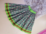 Poinsettia Holiday Skirt by PMdesigns by Pamela Marie