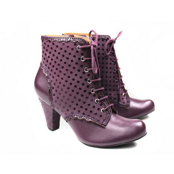 Divine Boots by Cristófoli in Plum