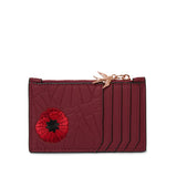 Poppy Field Card Holder by Erstwilder