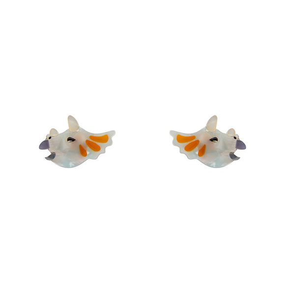 Tricera-Pop Earrings by Erstwilder