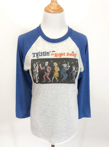Twistin' the Night Away Raglan Women's Tshirt by Mischief Made