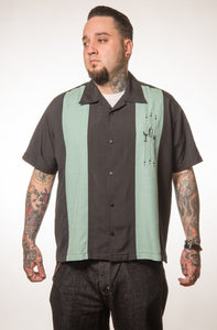 The Shake Down Button Up in Mint Men's Shirt by Steady Clothing