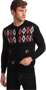 Charlie Diamond Cardigan by Collectif Menswear