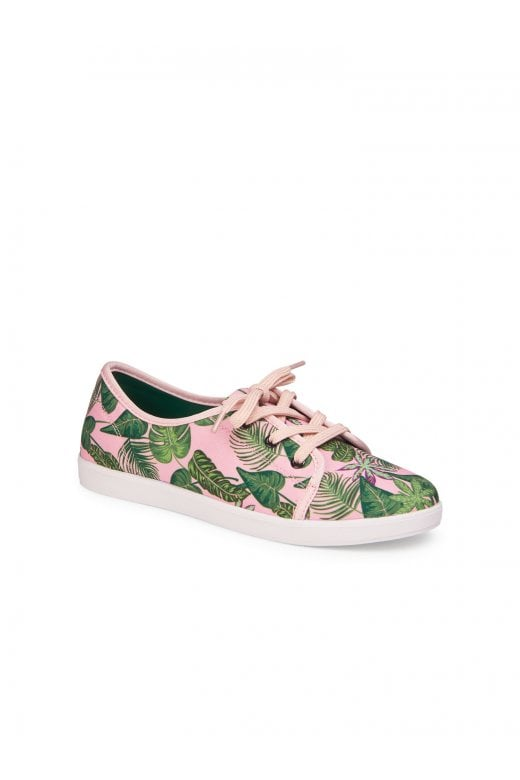 Grace Pink Jungle Shoes by Lulu Hun
