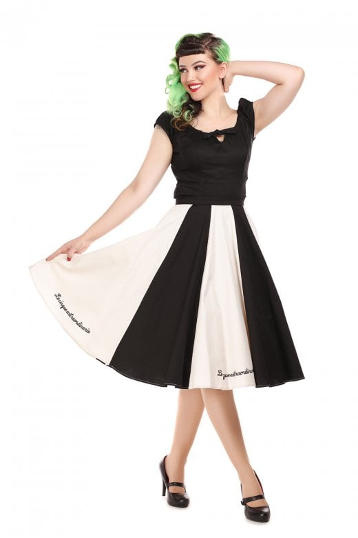 Lola Le Cirque Women's Swing Skirt by Collectif Mainline