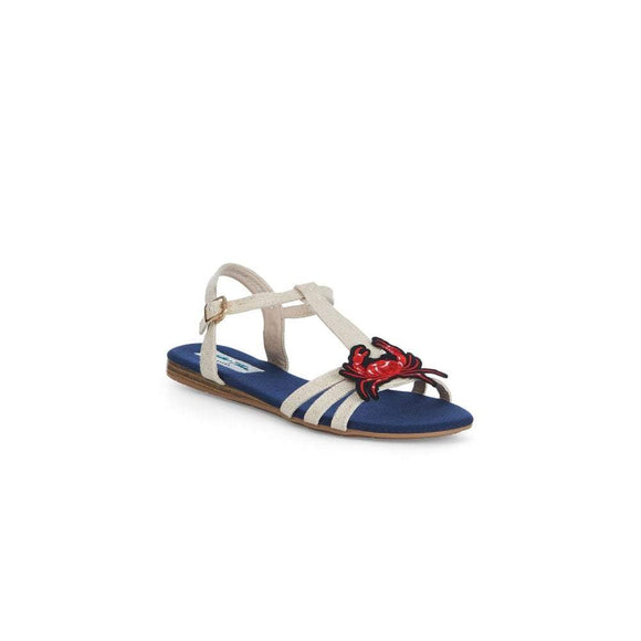 Lottie Crab Sandals by Lulu Hun