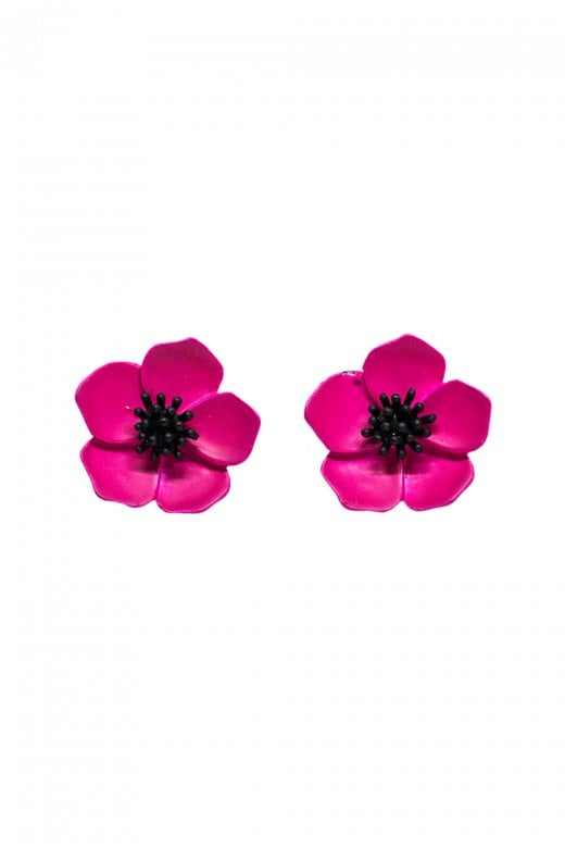 Petunia Flower Earrings by Collectif