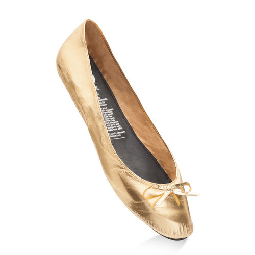 Gold Digger Rollasole Flat Shoes