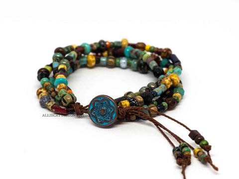 Make your Own Kit - Tribal Picasso 4 Stranded Bracelet