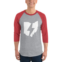 State of Ohio 3/4 Raglan Shirt