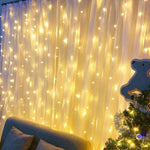 Load image into Gallery viewer, Curtain LED Lights | Warm White
