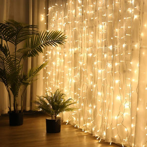 Curtain LED Lights | Warm White