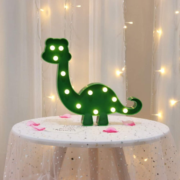 Marquee LED Light - Dinosaur Shape - Chronos