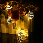 Load image into Gallery viewer, Metal Balls Decorative String Lights - Warm White | Chronos