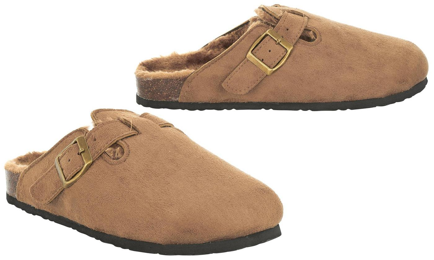 5ae7b8e6ffa Seranoma Women s Indoor and Outdoor Cork Clog Slippers - Size 9 ...