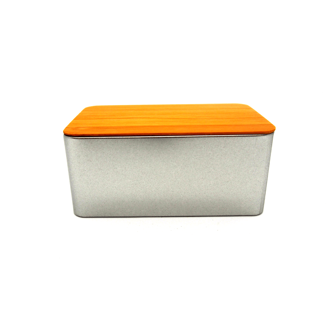Tea Storage Box with Bamboo Cover