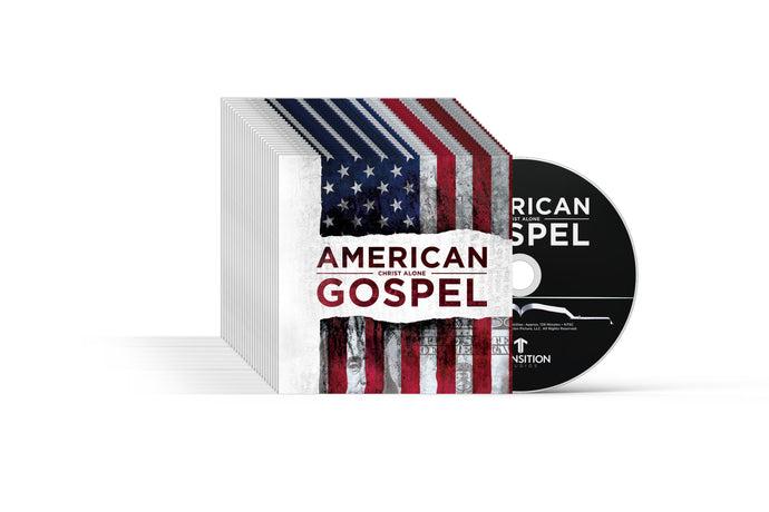 Evangelism Pack - American Gospel: Christ Alone (AG1) 25 North American DVDs