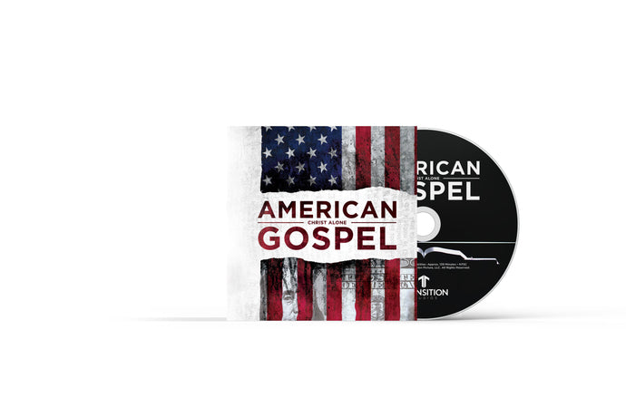 American Gospel: Christ Alone in 5 X 5 flat mailer.