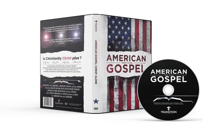 AMERICAN GOSPEL: CHRIST ALONE DVD (NTSC North American DVD)