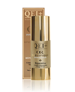 CREAM TUBE GOLD REPAIRING BRIGHTENING FACE & NECK