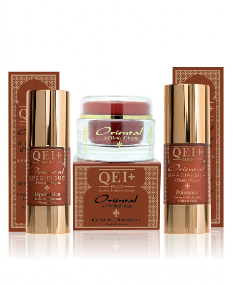 ORIENTAL BOX WITH ARGAN OIL