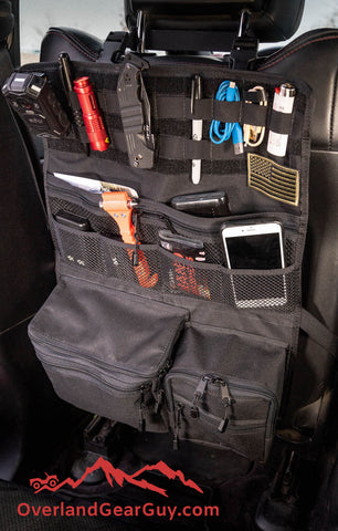 Aspen seat organizer by Overland Gear Guy