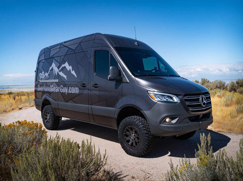 "2019 Mercedes Sprinter 4x4 144"" van - Overland Gear Guy van"