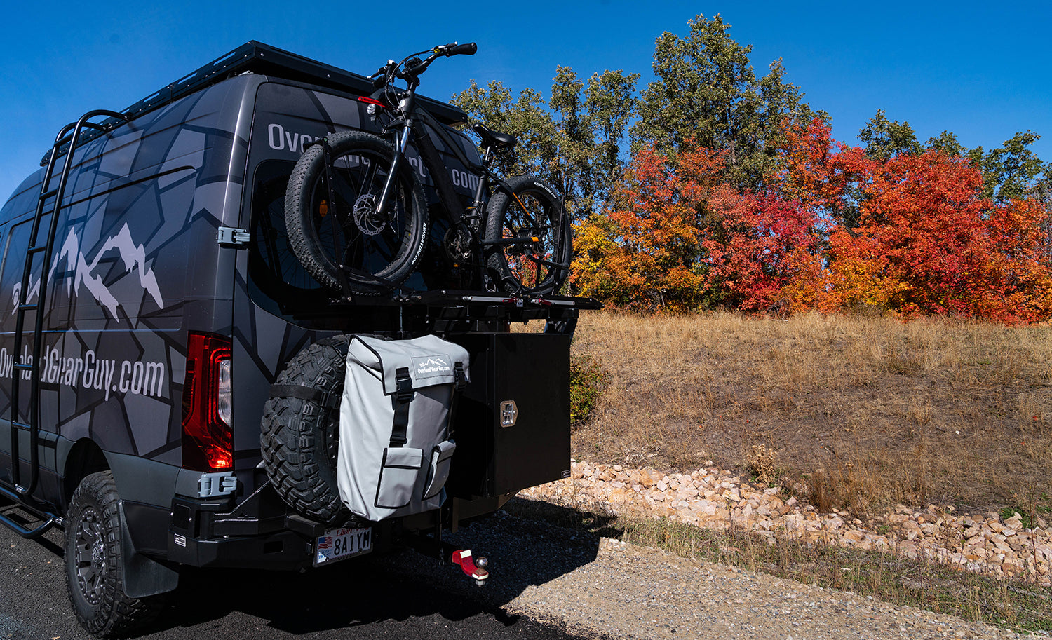 1up Bike Rack Overland Gear Guy Van 2019 Sprinter 4x4