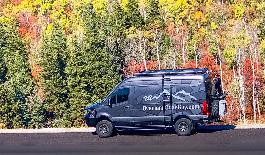 Overland Gear Guy Van 2019 Sprinter 4x4