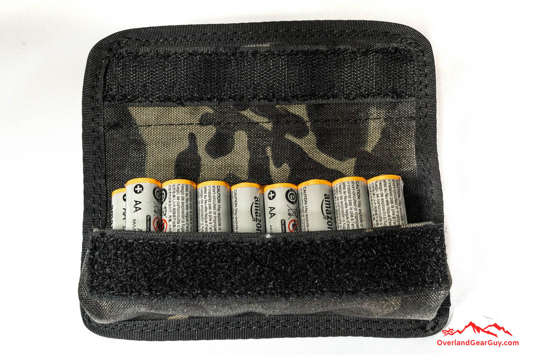 Battery Storage Pouch by Overland Gear Guy