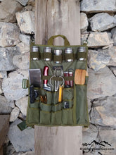 Load image into Gallery viewer, Back Country Utensil Pouch - Boondocking Camp Kitchen Utensil Organizer by Overland Gear Guy